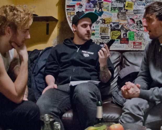 Amplifier Interview - Itchy Poopzkid - Jazzhaus Freiburg